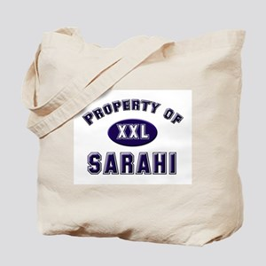 Property of sarahi Tote Bag
